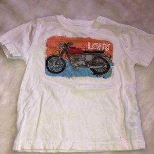 Levi's motorcycle print T-shirt baby boy